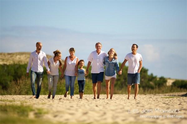Seance photo grande famille au Courant d huchet 15
