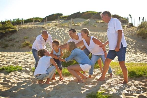Seance photo grande famille au Courant d huchet 6
