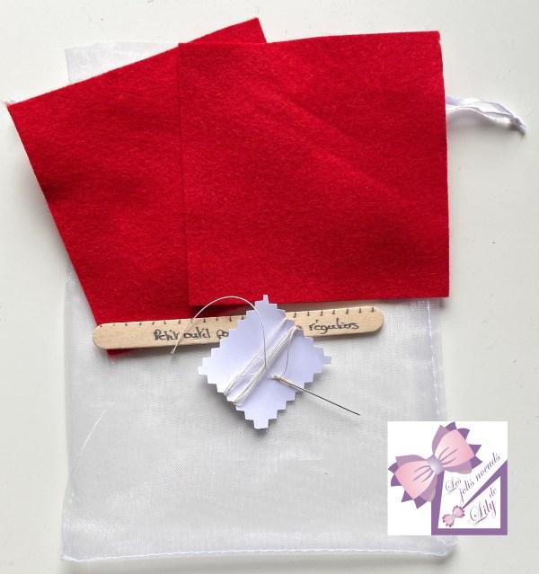 kit couture marque page activité enfant bricolage