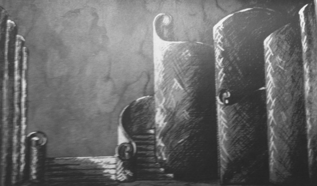 scenic design lesley blanch komisarjevsky Macbeth 1933