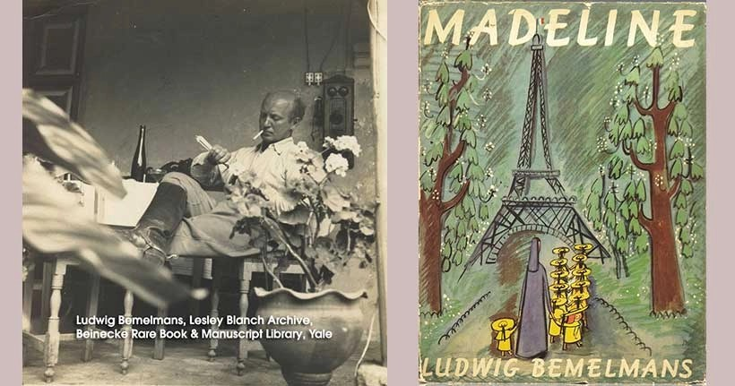 Lesley-Blanch-and-Ludwig-Bemelmans