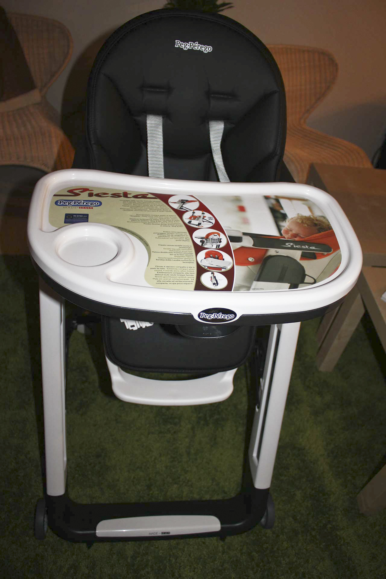 Perego High Chair Discover The New Peg Perego Siesta High Chair Bucket List
