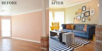 Living Room Makeovers Before And After Pictures. living ...