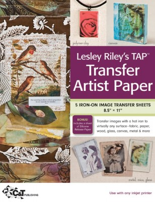 Using Lesley Riley's TAP Transfer Artist Paper