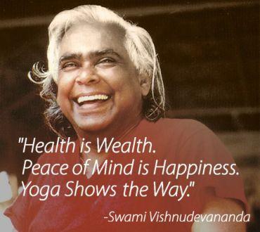 Swami Vishnudevananda yoga