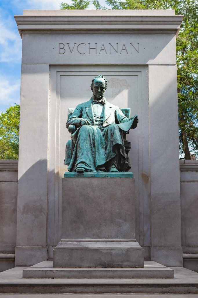 James Buchanan Memorial at Meridian Hill Park
