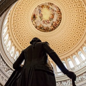 George Washington in the US Capitol Dome