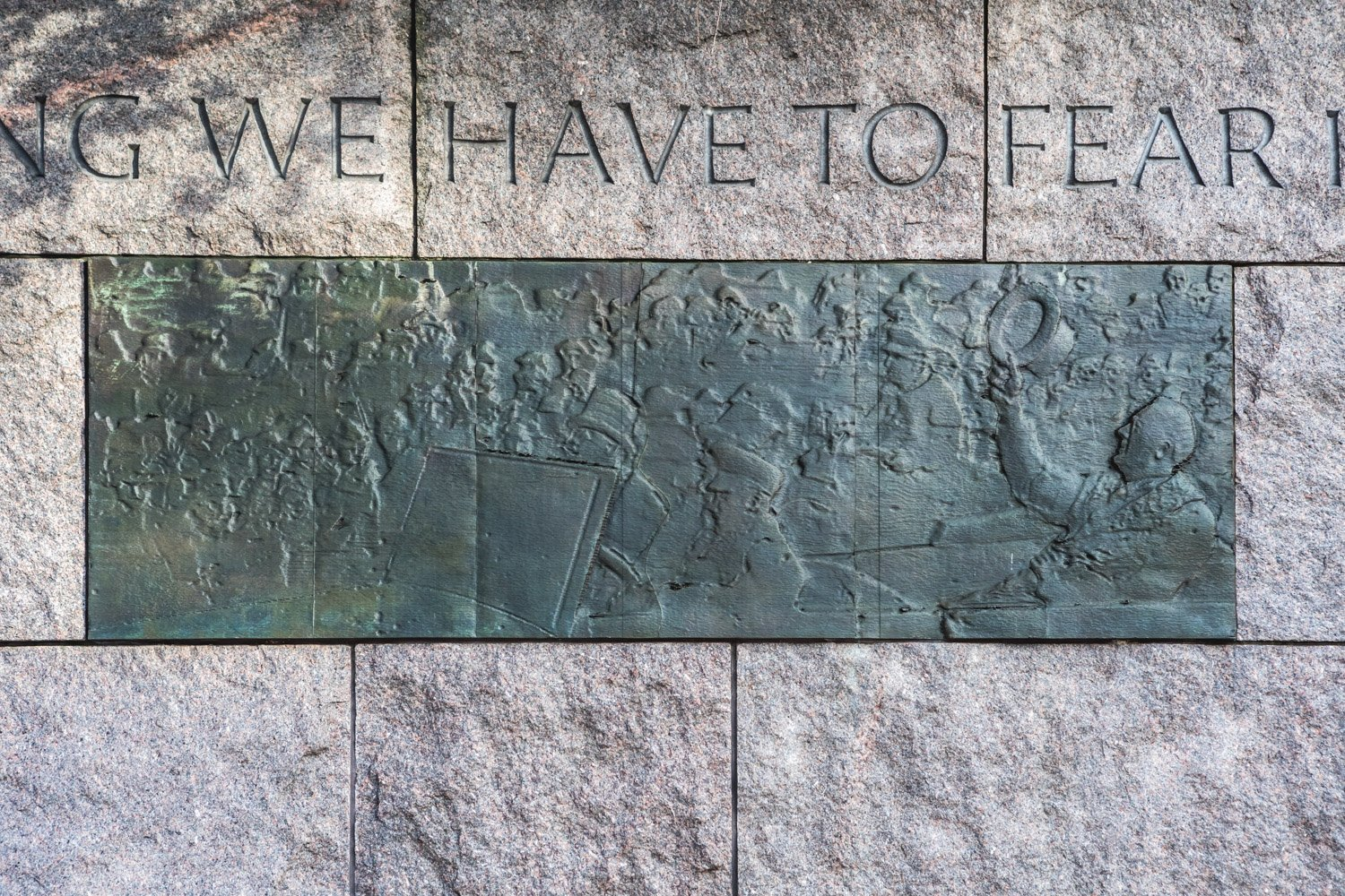 First Inaugural Bas-Relief