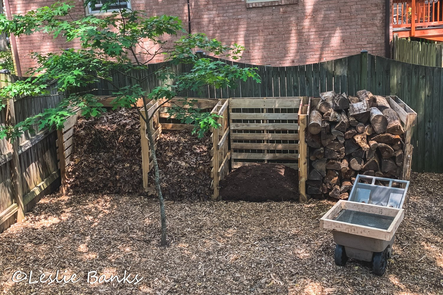 Four Bin Compost System