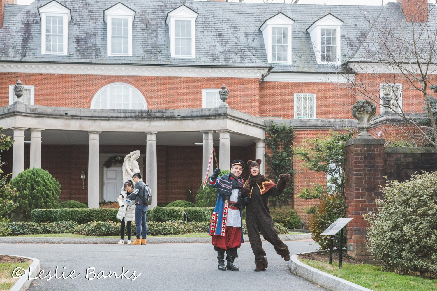 Hillwood Estate Characters