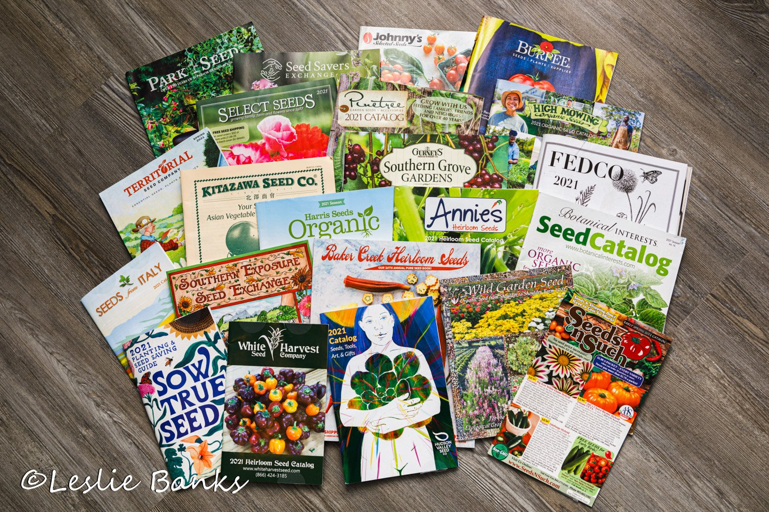 Group of Seed Catalogs