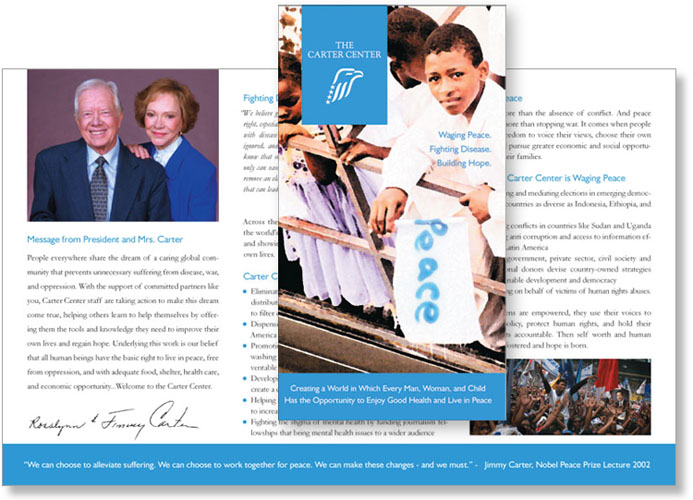 Carter Center Brochure