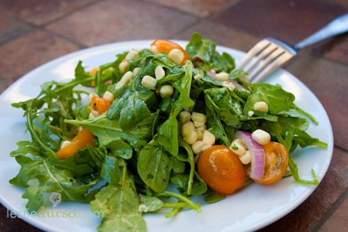 Arugula & Corn Summer Salad
