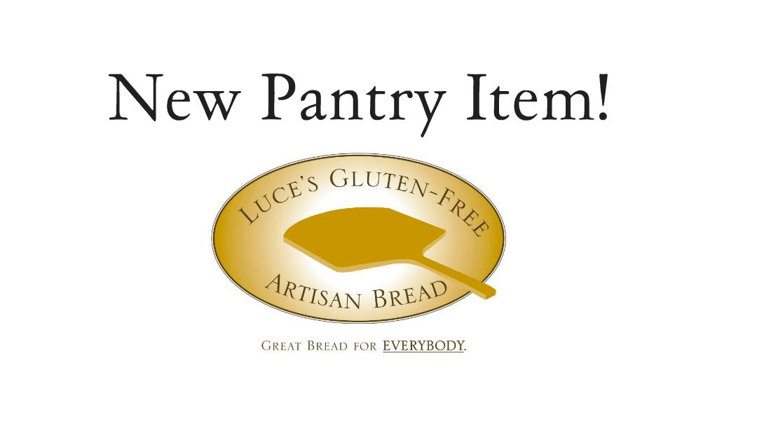 Luce's Gluten Free Artisan Bread