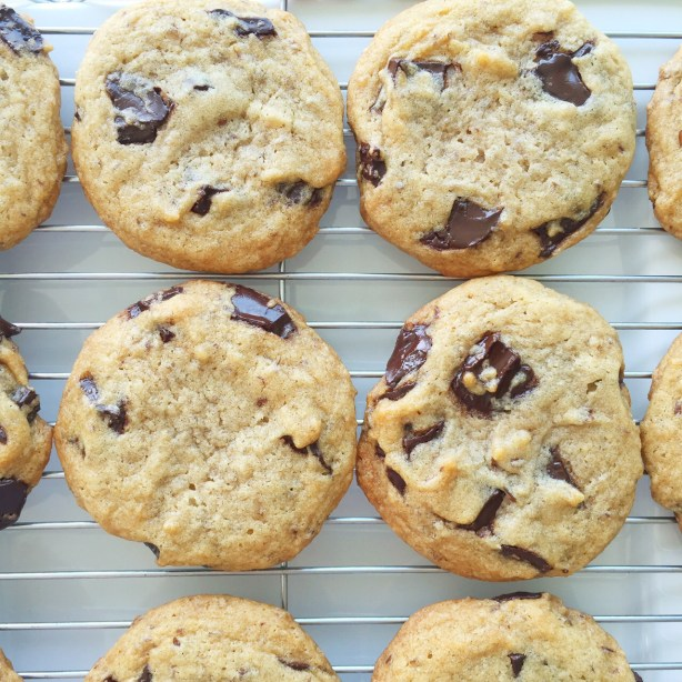 vegan Toll House chocolate chip cookie recipe by Leslie Durso