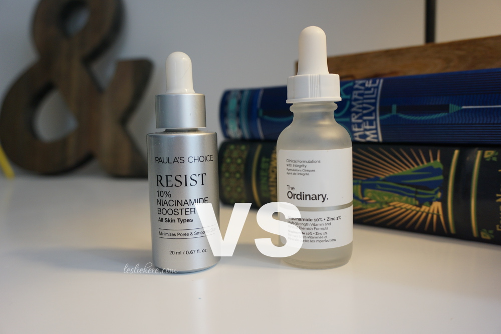 Niacinamide Showdown - Paula's Choice VS The Ordinary!