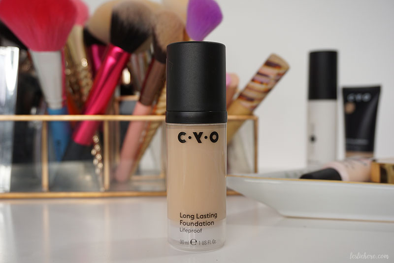 CYO Lifeproof Long Lasting Foundation | REVIEW • lesliehere com