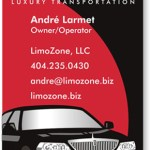 Limo Zone Logo and Business Card copy