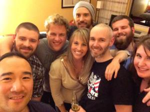 The Fitness Summit with other meathead junkies in the industry