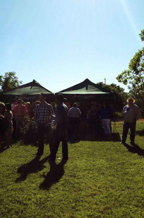 the beer (Sudwerk) and wine (Heringer) tents