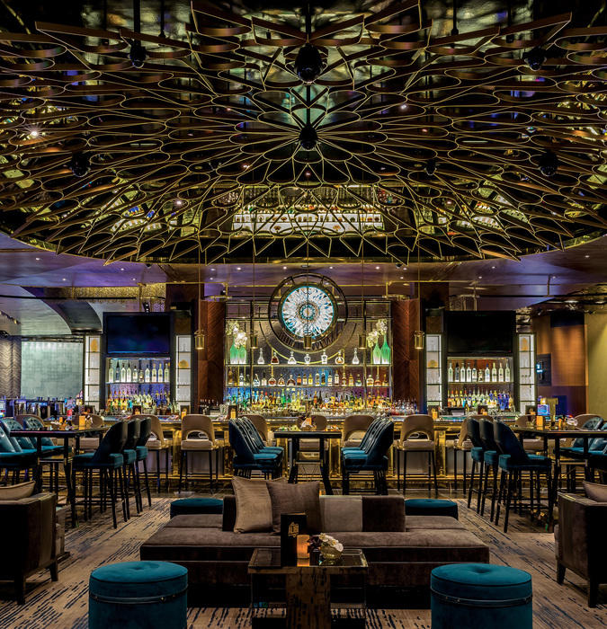 Alibi Cocktail Lounge in the Aria Resort and Casino, Las Vegas. by Studio Munge