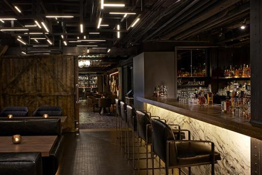 Dirty Habit at the Hotel Palomar in San Francisco. By Dawson Design Associates