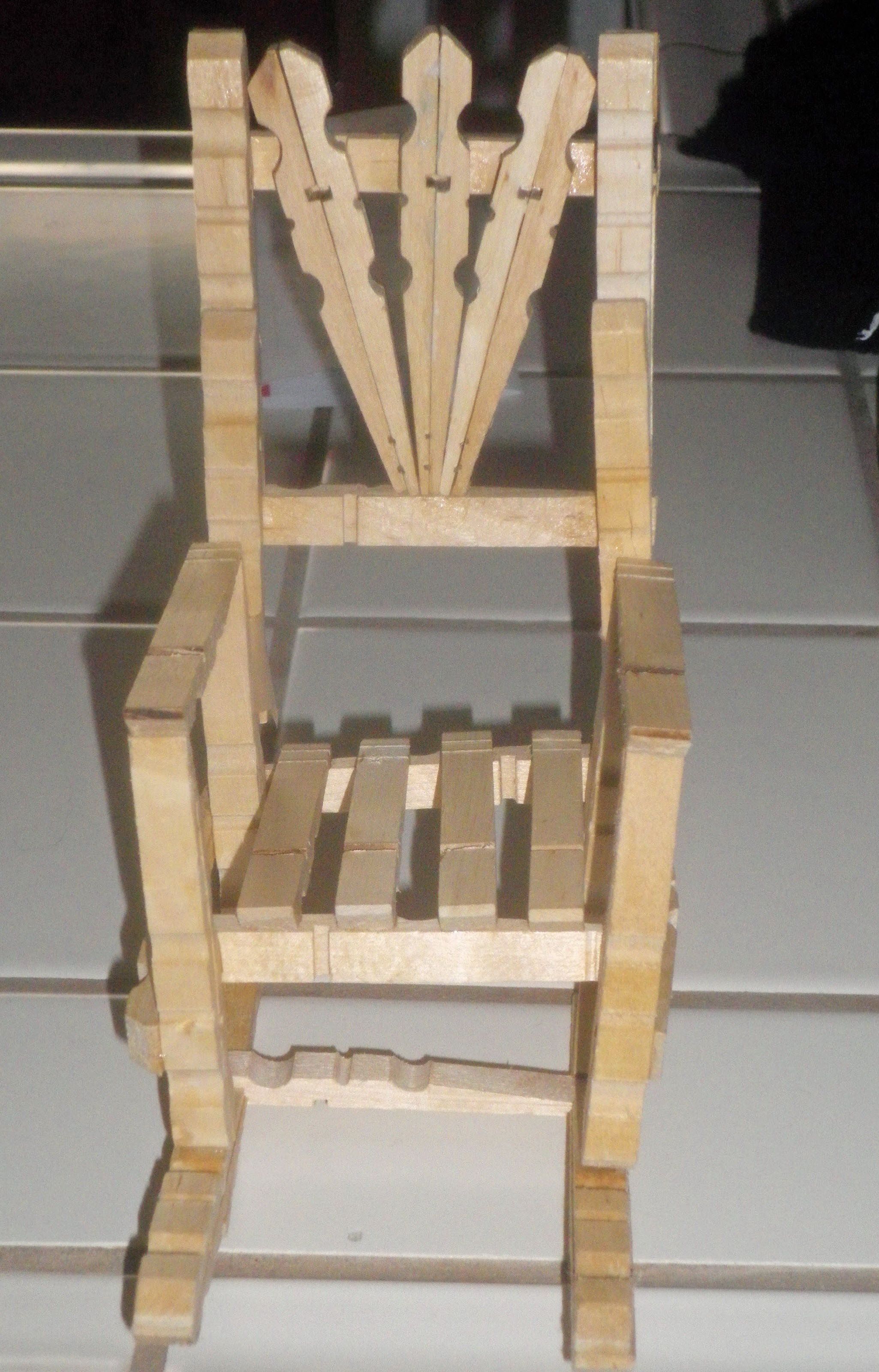 Clothespin Rocking Chair  Random Thoughts and Musings