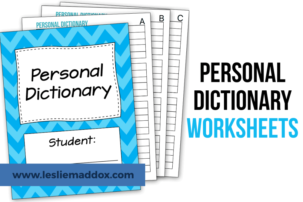 medium resolution of How to Combine Vocabulary and Dictionary Skills into One Activity - Leslie  Maddox