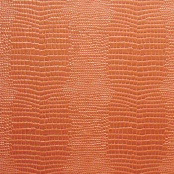 Love! Love! Love leather wallpaper...this comes in a creamy white too...just the right amount of wow! f. schumacher