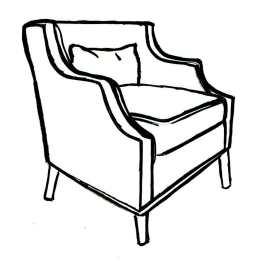 Reeve Sculpted Tub Chair