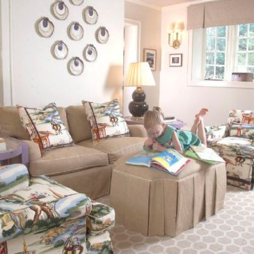 The Savvy Chic Family Room