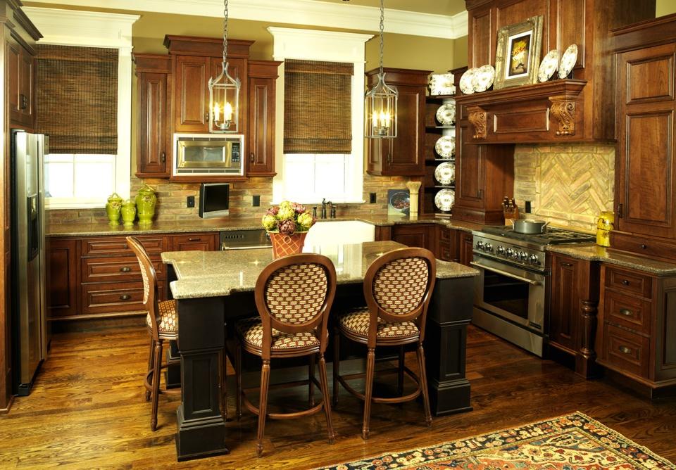 Kitchen Redesign  Leslie Newpher Interiors  Highend