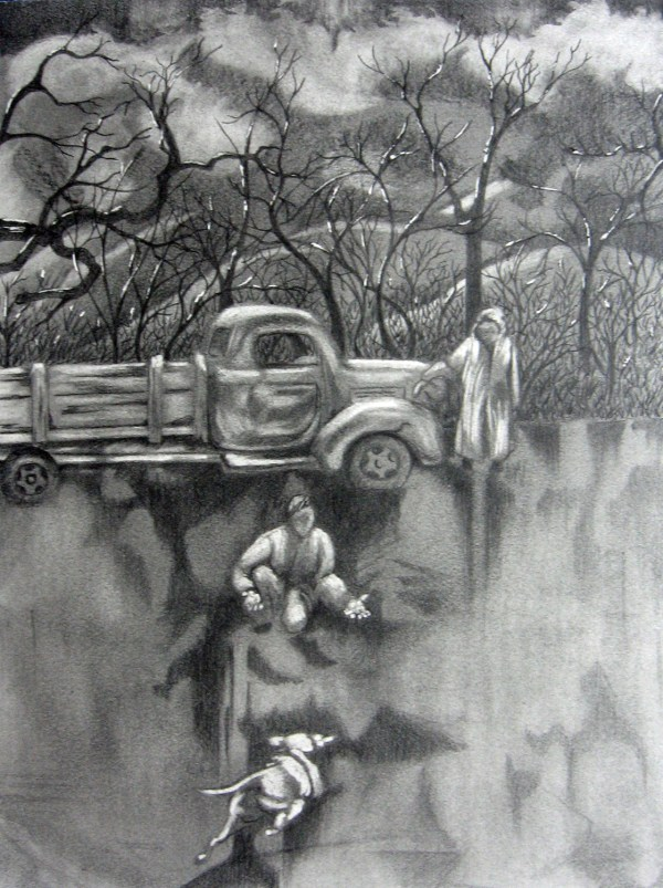 Creative Black and White Pencil Drawings