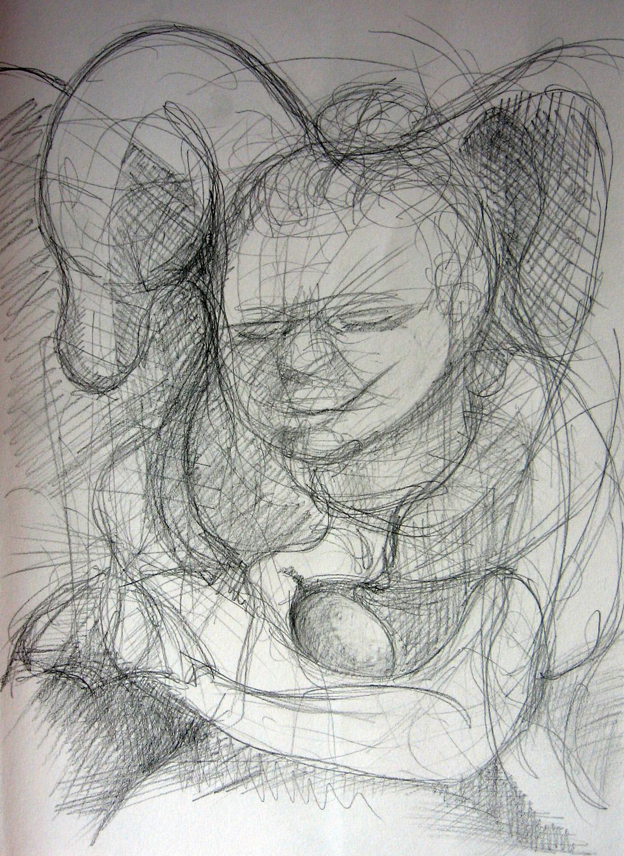 Automatic Drawing : automatic, drawing, Automatic, Drawings, Leslie, White