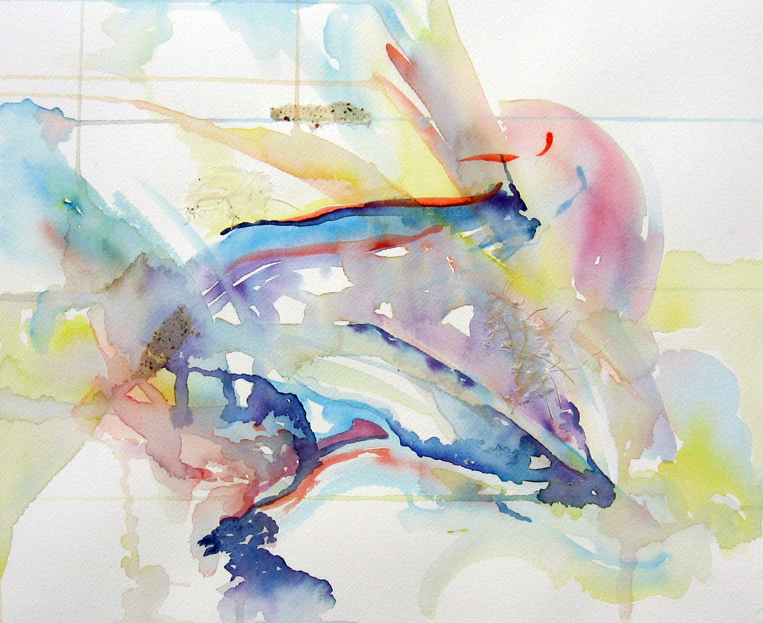 Dove Painting Abstract