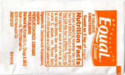 "Equal Packet (back), screenprint on Tyvek with polyester fill, 6.25"" x 3"" x .25"", 2012."