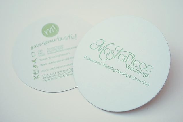 Fun Coaster Business Cards Leslievegadesigncom