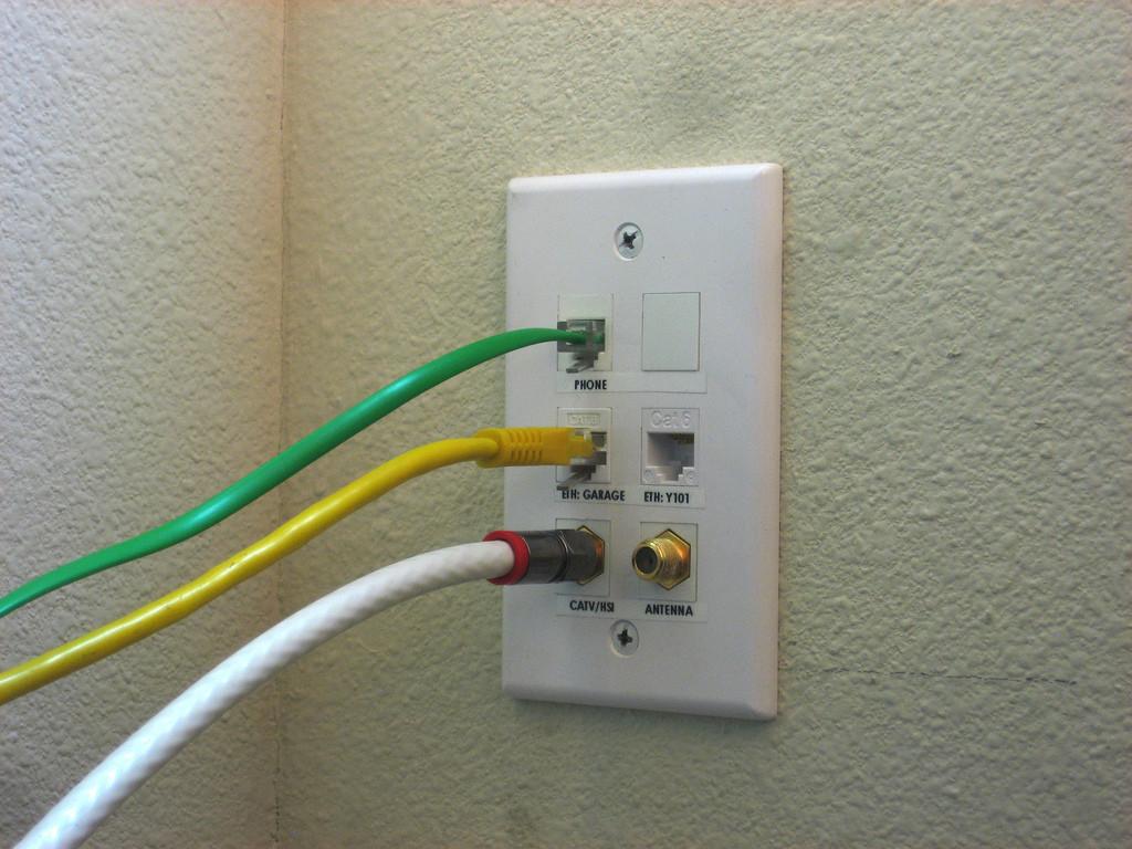 Phone Ethernet Wall Jack Wiring Diagram