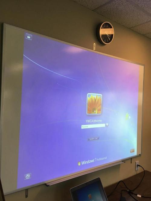 small resolution of projector installation