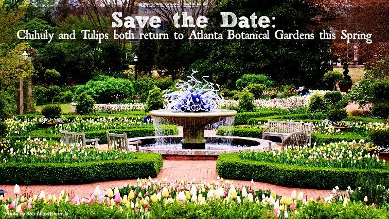 chihuly botanical gardens atlanta
