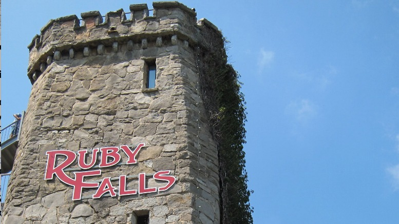 Ruby Falls Chattanooga Tennessee tower