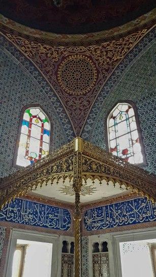Elaborate mosaics
