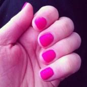 Pour la semaine rose, je porte une super couleur ♥
