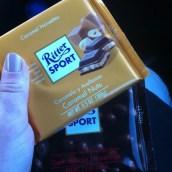 Pour ma fête, j'ai eu du chocolat :P