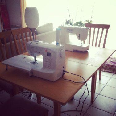 Atelier couture entre copines