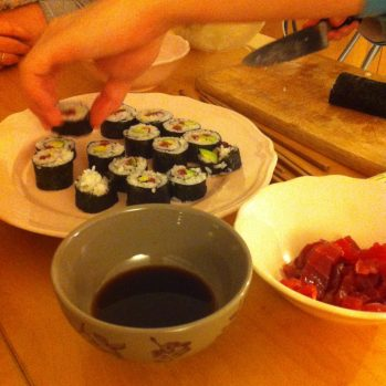 Soirée sushi ♥