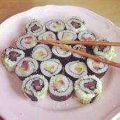 Manger japonnais pendant deux jours...
