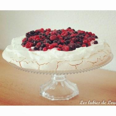 La recette de la pavlova est sur le blog !