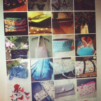 J'ai reçu plus de 100 photos de créations réalisées à partir de mes tutos, whoua !