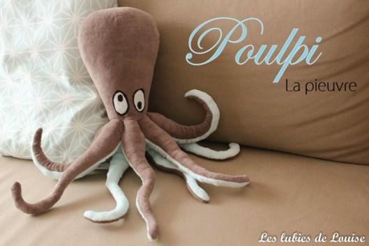Doudou pieuvre- Les lubies de louise-titre
